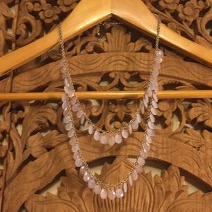 Jewelry - Necklace of light pink stones